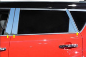 "2014+ Kia Soul ""SAA"" Stainless Chrome Polished Pillar Posts 6pc"