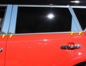 "2014+ Kia Soul ""SAA"" Stainless Chrome Polished Pillar Posts 8pc"