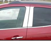 Opel Mokka SAA Stainless Steel Chrome Door Pillar Post Set 4pc