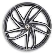 ETA BETA ITALY Eros Heron Anthracite Matt Polish Premium Alloy Wheels
