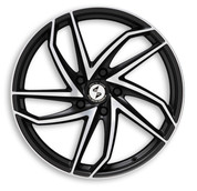 ETA BETA ITALY Eros Heron Black Matt Polish Premium Alloy Wheels