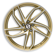 ETA BETA ITALY Eros Heron Gold Matt Polish Premium Alloy Wheels