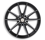 "ETA BETA ITALY ""DLW"" Manay Black Matt Polish Deluxe Wheel Collection"
