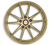 "ETA BETA ITALY ""DLW"" Manay Gold Matt Polish Deluxe Wheel Collection"