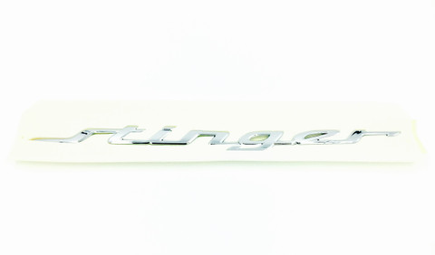 STINGER Letter Emblem for Kia Stinger Sedan KDM exclusive emblem