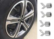 K logo lexus style emblem 3D K valve caps for Kia Optima cadenza k900 forte rio sorento sportage niro stinger picanto rondo carens mohave