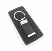 LODEN heavy metal Carbon optic look key chain