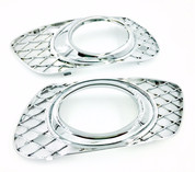 Mercedes benz ML chrome fog light covers set 2pc