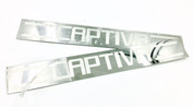 Chevy Captiva Chrome Door Sills Plates 2pc Set