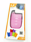 Pink silicone key case for kia hyundai models 2011 2012 2013 2014 2015