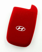 Hyundai OEM red silicone smart key case pocket 2011 2012 2013 2014 2015 2016