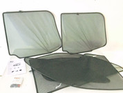 Kia Sorento Interior window shade set custom pieces fabric see through material 2003 2004 2005 2006 2007 2008 2009