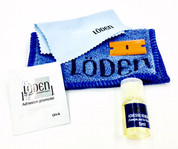 LODEN EMBLEM Installation kit automotive emblem kit adhesive remover adhesion promoter primer microfiber cleaning towel, microfiber polishing cloth plastic abs razor blade full deluxe car badge emblem removal installation kit coming soon