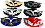 2007-2010 Elantra HD (V.2) Anzu-T Wing Badge Replacement Hood/Trunk (Various Colors)