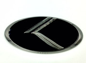 """2011-2018 Kia Picanto / Morning """"THE REAL K"""" 3D Vintage Emblem Badge Hood/Grille/Trunk (Various Colors)"""