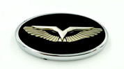 ANZU-T Premium Steering Wheel Emblem for Kia / Hyundai (Various Colors)