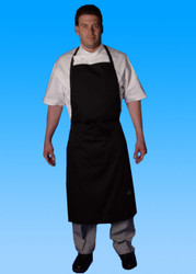 -Full Cut Bib Apron