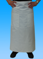 -Double Bistro Apron (White)