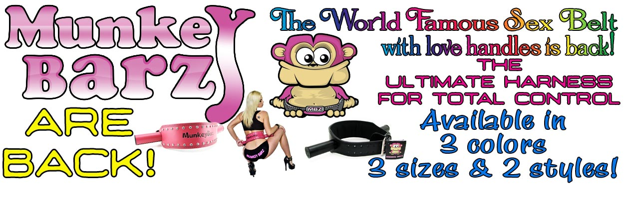 Revolutionizing sexual mobility, creating a whole host of previously impossible, or at least, gymnast-caliber position possibilities. The Munkey Barz lend a much sexier meaning to the phrase 'love handles', the Munkey Barz system is an incredibly simple,