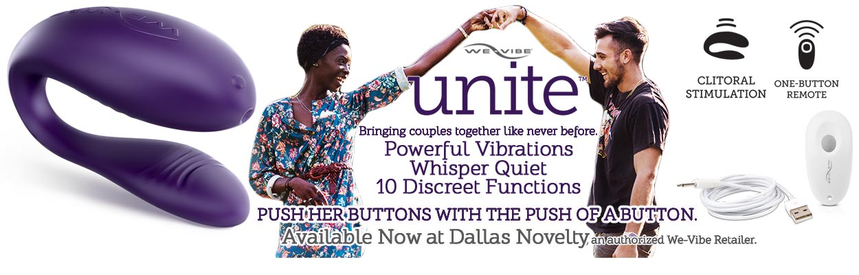 Bringing couples together like never before.  Turn up the passion in your relationship with Unite's unique design, made just for two. Unite provides hands-free clitoral stimulation for her, with a slim design that's comfortable and fun for you both.