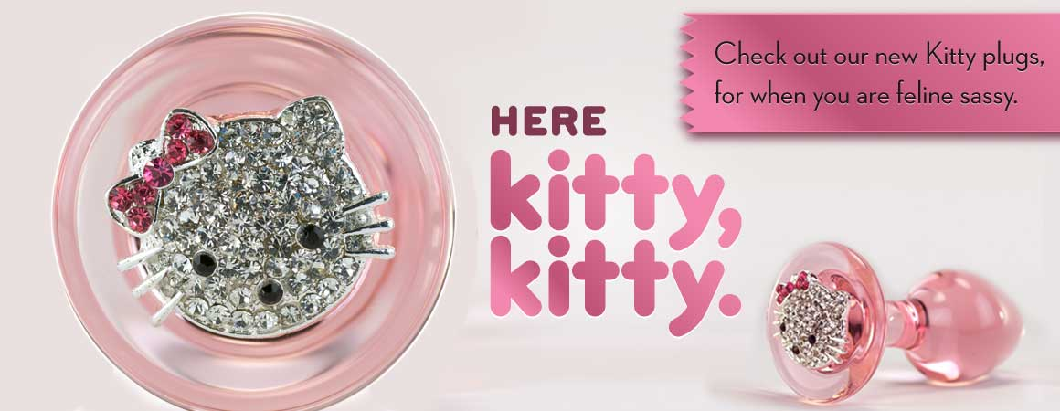 Crystal Delights Kitty Plug for feline sassy!