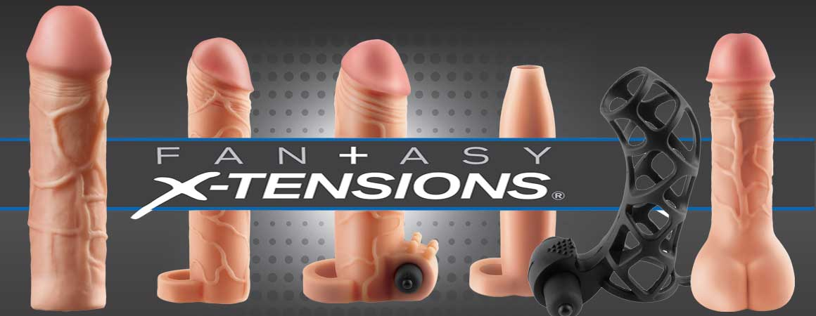 Fantasy X-tensions by Pipedream Products, The latest in penis extension technology.