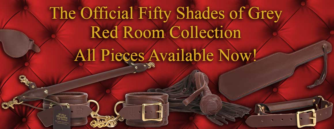Get the official Fifty Shades of Grey toys available now!