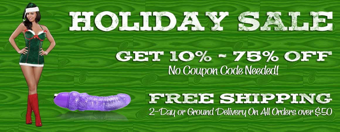 Holiday Sale Get 10-75% off everything with free shipping on all orders over $50.