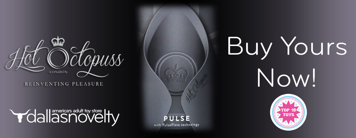 The Pulse is the World's 1st Guybrator, a  evolutionary new male stimulator that oscillates with the innovative PulsePlate technology.