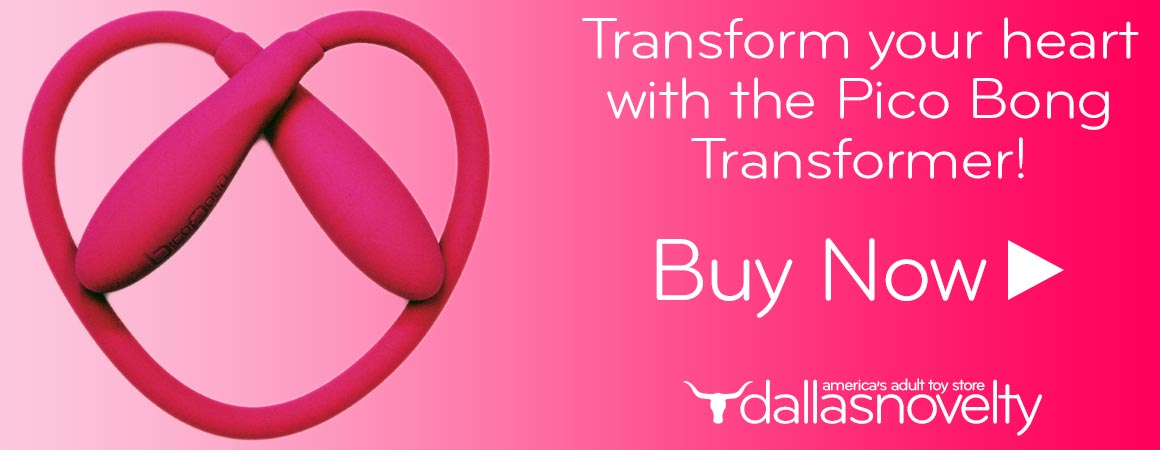 Transform your heart with the pico bong transformer dual ended flexible vibrator.