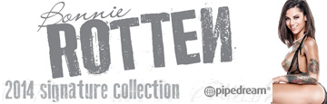 bonnie rotten signature collection by pipedream products