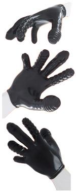 OXBALLS Finger Fuck Textured Unisex Glove