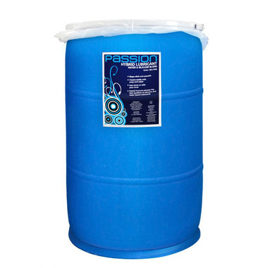 Believe, 55 gallon drum of anal lube