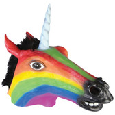 Forum Novelties Rainbow Unicorn Mask