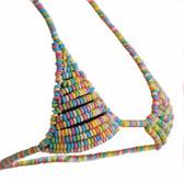 Multicolor Candy Bra