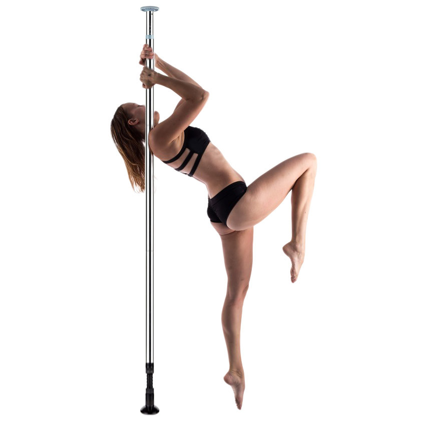 Shots Toys Professional Dance Pole Silver