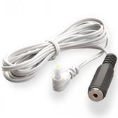 Mystim Round Male Plug to 2.5mm Female Phone Plug Adapter