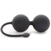 Fifty Shades of Grey The Weekend Collection Tighten and Tense Silicone Jiggle Balls Kegel Exerciser