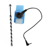Zeus Electrosex Voltaic for Him Cock & Ball Strap with Beaded Urethral Insert