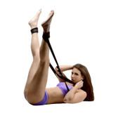 Frisky Do Me Sex Position Support Sling with Leg Restraints