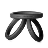 Perfect Fit Xact-Fit Small/Medium/Large 3-piece Premium Silicone Ring Kit