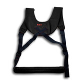 LuvRydr Padded Faux Leather Sex Harness Black
