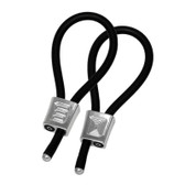 ElectraStim Prestige Electrosex ElectraLoops Adjustable UniPolar Cock Rings Silver