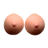 Buy - Realistic C Cup Breast Inserts Flesh - XR Brands Size Matters