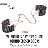 Bijoux Indiscrets Desir Metallique Black Mesh Handcuffs
