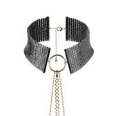 Bijoux Indiscrets Desir Metallique Black Metallic Choker
