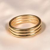 Sylvie Monthule Men's Gold Penis Ring