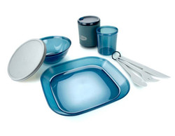 GSI Infinity 1 Person Dinner Plate Tableset - Blue