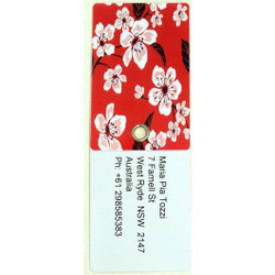 Personalised Luggage Tag - Cherry