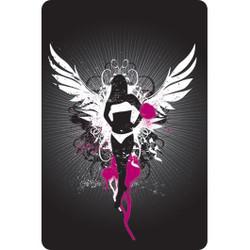Personalised Luggage Tag - Dark Angel